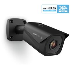 Outdoor Bullet POE IP Camera 3840x2160,131ft NightVision,Wat