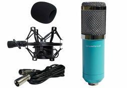 Condenser Microphone, Large Diaphragm Studio Mic Set, Record