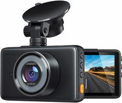 """APEMAN Dash Cam 1080P FHD DVR Car Driving Recorder 3"""" LCD Sc"""