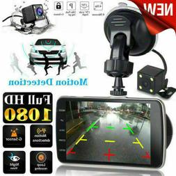 Dash Cam Front and Rear Dual Camera for Cars 170°Wide Angle