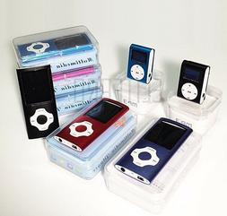 Digital Compact Portable MP3 MP4 Player 64 GB SD Photo Viewe