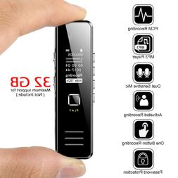 Digital Mini Spy Voice Sound Recorder Dictaphone Small Handh