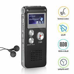 digital mini spy voice sound recorder dictaphone