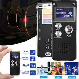 Digital Sound Activate Audio Recording Device Voice Recorder