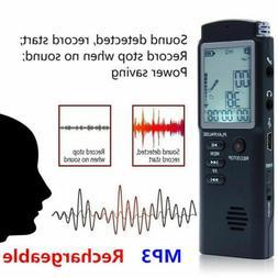 Digital Voice Activated Audio Recording Device 32G Voice Rec
