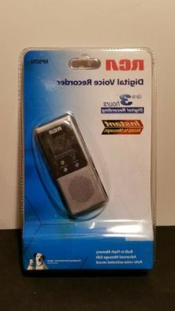 RCA Digital Voice Recorder RP5010 Instant Access To Messages