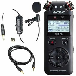Tascam DR-05X Stereo Handheld Digital Audio Recorder & USB A