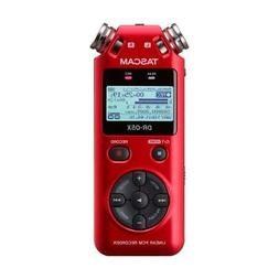 Tascam DR-05X Stereo Handheld Digital Recorder and USB Audio