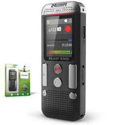 Philips Dvt2510 8Gb Voice Tracer Digital Recorder/2 Mic Ster