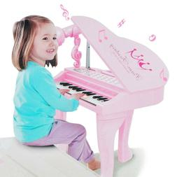 Electronic Piano Musical Multifunction Instrument Microphone
