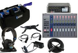 Zoom F4 Recorder w/ Zoom F-Control, Orca Bag, Sony Headphone