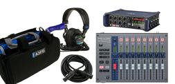 Zoom F8n Recorder w/ Zoom F-Control Mix Desk, Orca OR-27 Bag