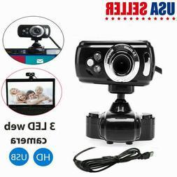 Full HD Desktop Laptop Webcam Video Recording Live Streaming