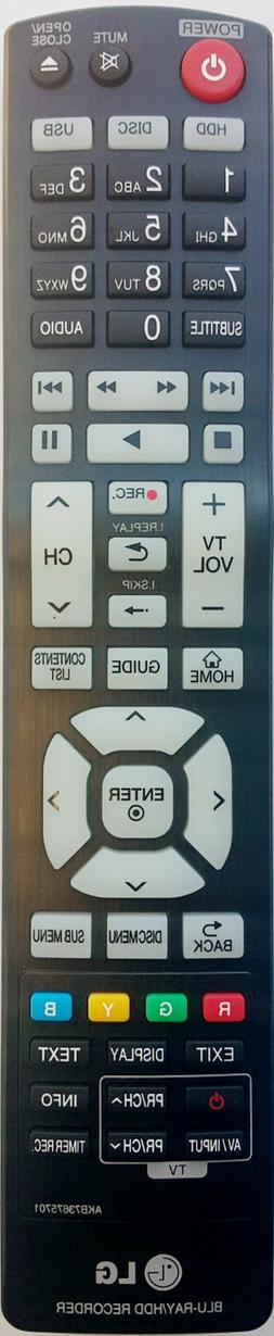 GENUINE LG REMOTE CONTROL AKB73675701 Suits BR625T BR629T BL