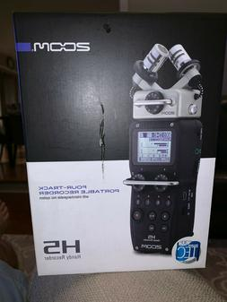 Zoom H5 Four-Track Portable Digital Recorder with interchang