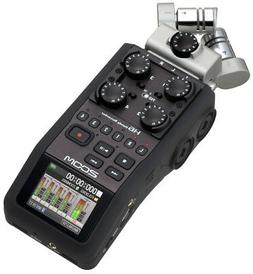 ZOOM H6 6-Channel Handheld Recorder with 2 Interchangeable M