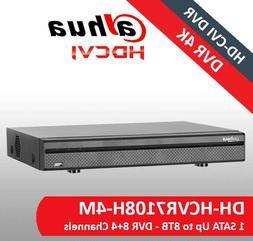 Dahua HCVR7108H-4M 8CH 4MP 1U Digital Video Recorder Support