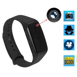 HD 1080P Bracelet Smart Watch Wristband Camera Spy Hidden Vi