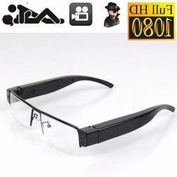 HD 1080P Glasses Spy Hidden Camera Security DVR Video Record