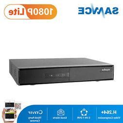 SANNCE 5in1 1080P Lite 4CH CCTV DVR Home Security Video Reco