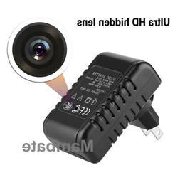 HD 1080P Hidden Camera USB Wall Charger Adapter Video Record