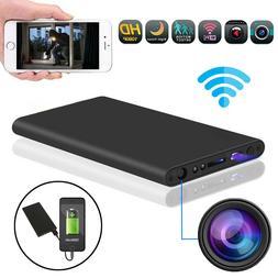 HD 1080P WiFi Hidden Spy Camera Night Vision Video Recorder