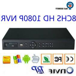 HD 8 Chs 1080P H.264 CCTV NVR Recorder for IP LPR Cameras& I