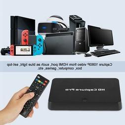 HD Capture Box 4K HDMI 1080P Recording For PC DVD TV Xbox Vi