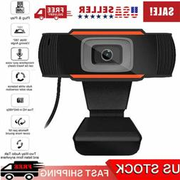 HD Webcam Video Recording USB Web Camera with Microphone For