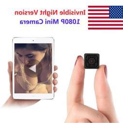 Hot Mini HD Hidden Camera Cam DVR Security Video Recording M