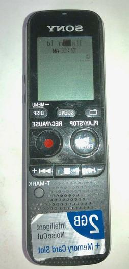 SONY ICD-PX312 2GB DIGITAL VOICE RECORDER UP TO 534 HOURS RE