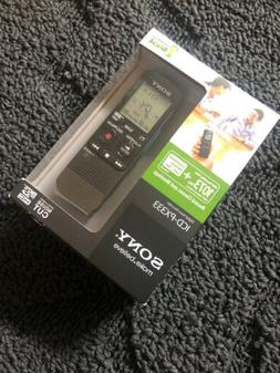 Sony ICD-PX333 Digital Voice Recorder 4GB Memory Works with