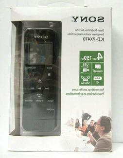 Sony ICD-PX470 Stereo Digital Voice Recorder with Built-In U