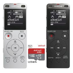 SONY ICD-UX560F Digital Voice Recorder Portable 4GB Dictapho