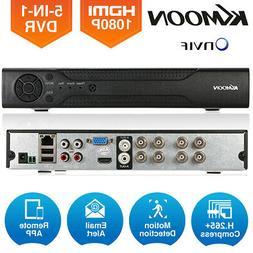 KKmoon H.265+ 4CH/8CH/16CH 1080N AHD DVR 5-in-1 Digital Vide