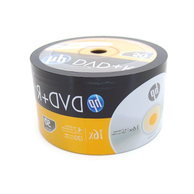 100 16x DVD+R Plus Recordable Media 4.7GB