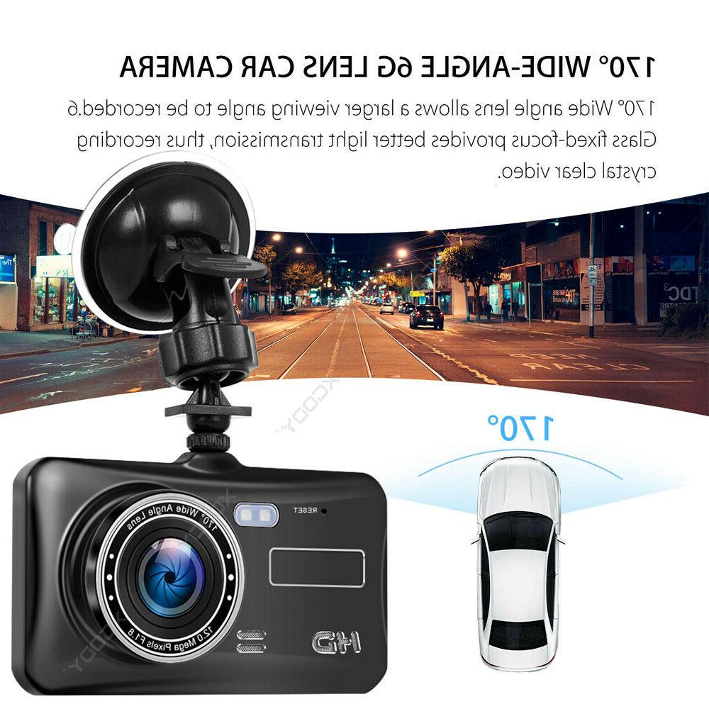 1080P Touch Screen DVR Dash and Camera