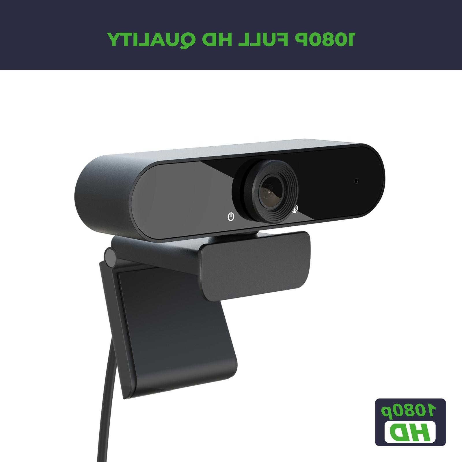 1080p Webcam with for webinars, recording