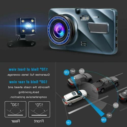 """New Full 1080P Wide 4.0""""Automobile Data Recorder Camera"""