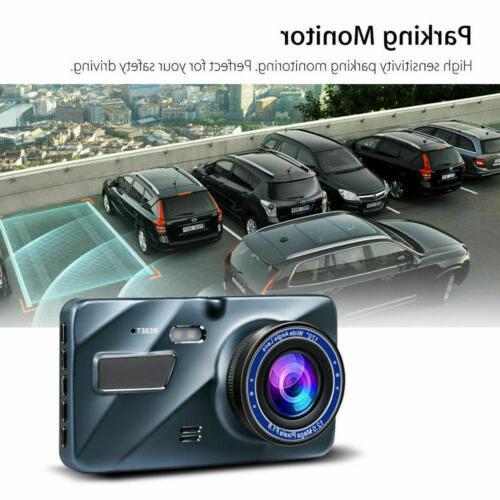 """New Full HD Wide Angle Len 4.0""""Automobile Recorder Camera"""