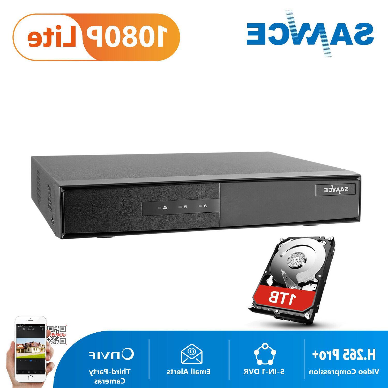 SANNCE 16CH 1080P Lite Digital Video Recorder DVR Home Secur
