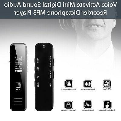 16GB Sound Recorder Activated Handheld Audio