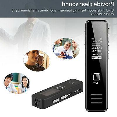 16GB Digital Voice Sound Handheld Audio Recording