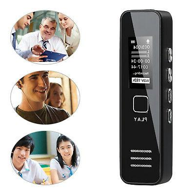 16gb digital mini voice sound recorder activated