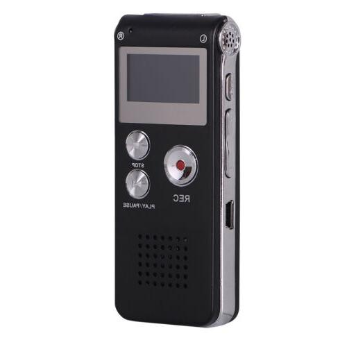 16GB Activated Digital Sound Audio Dictaphone MP3 Player