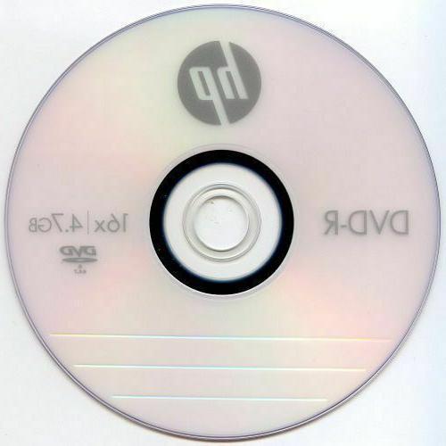 HP 16X DVD-R DVDR Recordable Disc Media 50 400