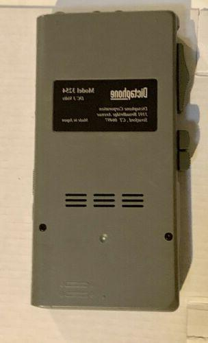 Dictaphone 3254 Handheld Microcassette & 1Tape