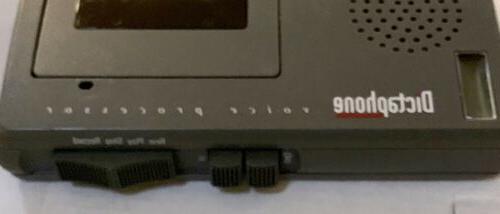 Dictaphone Microcassette Voice w/Case & 1Tape