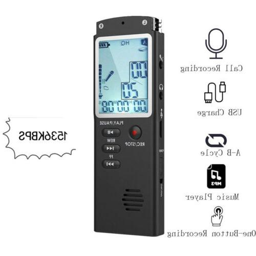 32G Spy Digital Recorder Dictaphone MP3