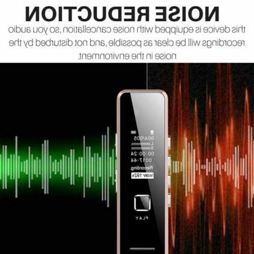 32GB Rechargeable Recorder Dictaphone MP3 Player USB